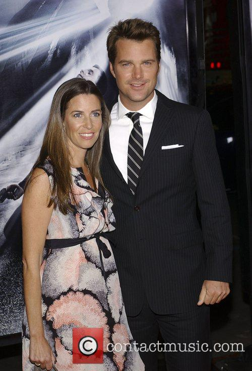 Chris O'donnell and Caroline Fentress 4