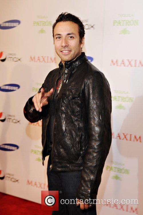 Howie Dorough Maxim magazine Superbowl party held at...