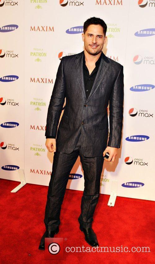 Joe Maganiello Maxim magazine Superbowl party held at...