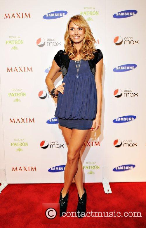 Maxim magazine Superbowl party held at the Ritz...
