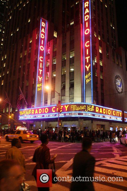 Atmsophere Maxwell performs live at Radio City Music...