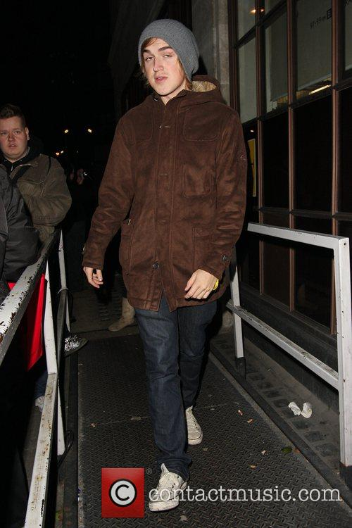 Arrive at BBC Radio One studios