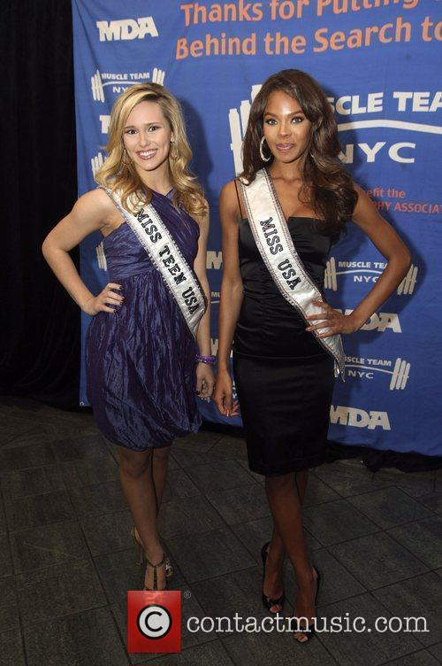 Miss Teen USA Stevi Perry and Miss USA...