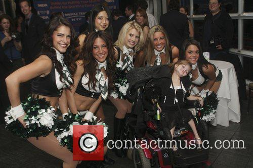 New York Jets Cheerleaders and Amber Kingersky 2009...