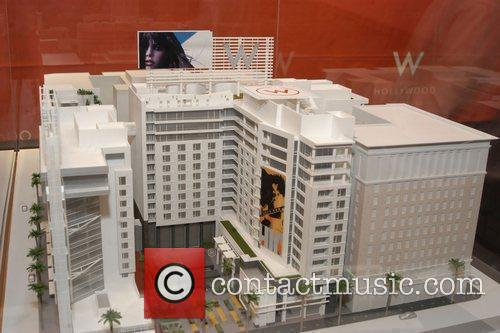 W hotel model  Hollywood Chamber Of Commerce...