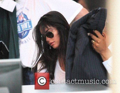Megan Fox arriving at LAX airport Los Angeles,...