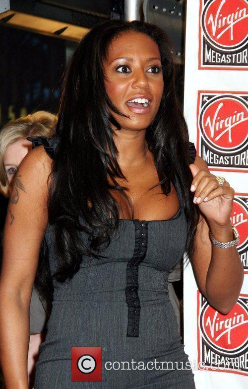 Melanie Brown Former Spice Girl Mel B promotes...