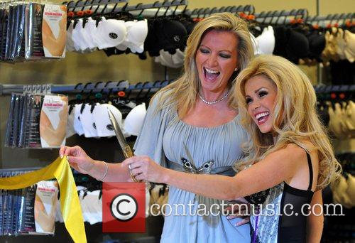 Michelle Mone and Melinda Messenger launch a new...