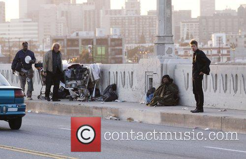 Shaun Sipos Filming on location for the new...
