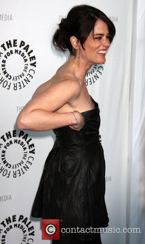 Robin Tunney Mentalist PaleyFest09 held at the ArcLight...