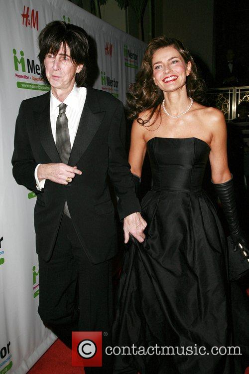 Ric Ocasek and Paulina Porizcova Mentor Foundation Royal Gala At The Waldorf Astoria. 1