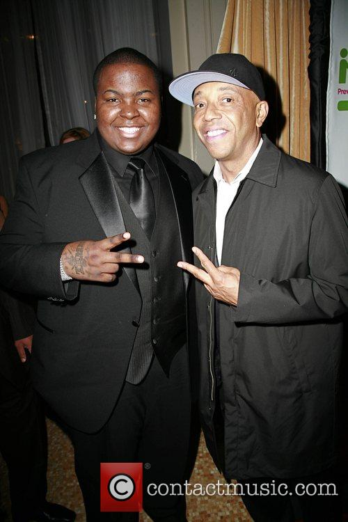 Sean Kingston and Russell Simmons 10