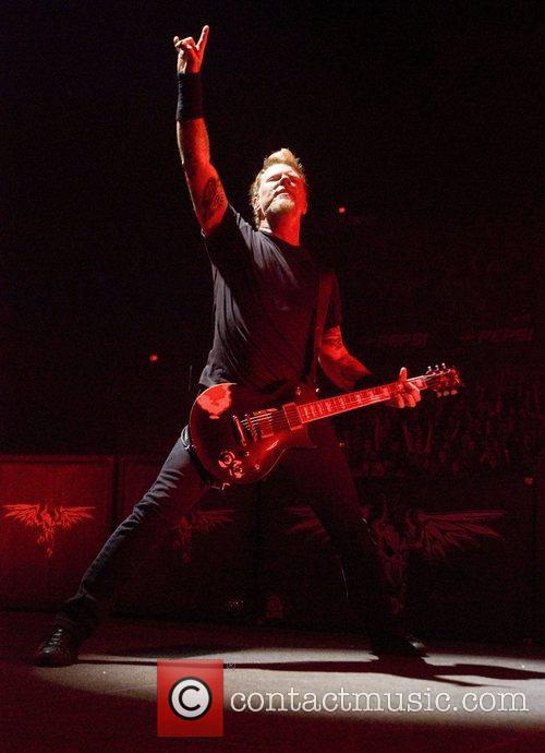 James Hetfield and Chicago 1