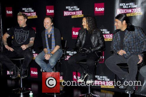 James Hetfield, Kirk Hammett, Lars Ulrich and Robert Trujillo 6