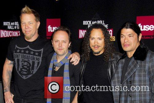 Metallica, Kirk Hammett, Lars Ulrich and Robert Trujillo 3