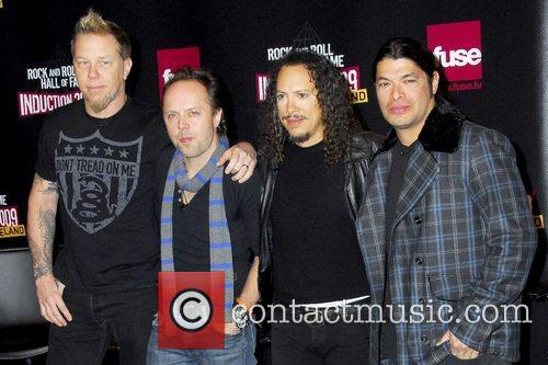 James Hetfield, Kirk Hammett, Lars Ulrich and Robert Trujillo 7