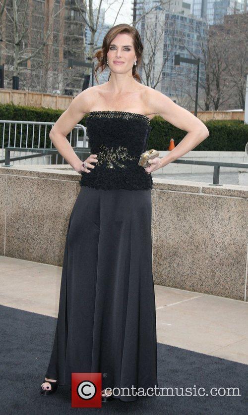 Brooke Shields  Metropolitan Opera 125th anniversary gala...