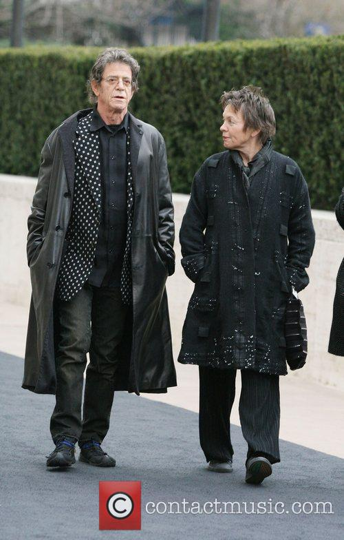 Lou reed and Laurie Anderson Metropolitan Opera 125th...
