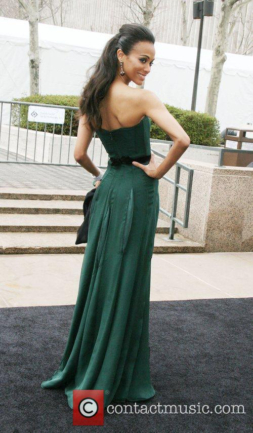 Zoe Saldana Metropolitan Opera 125th anniversary gala at...