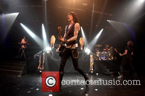 Metro Station performing live at Nokia Theatre in...