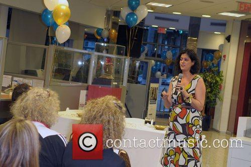 Mercedes Gonzalez Miami Fashion Week business seminar and...
