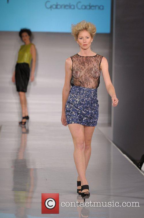 Miami Fashion Week - Gabriella Cadena Couture held...