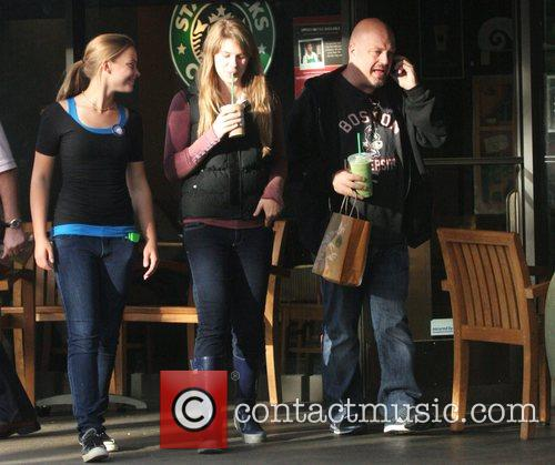 Michael Chiklis  taking his two daughters, Autumn...