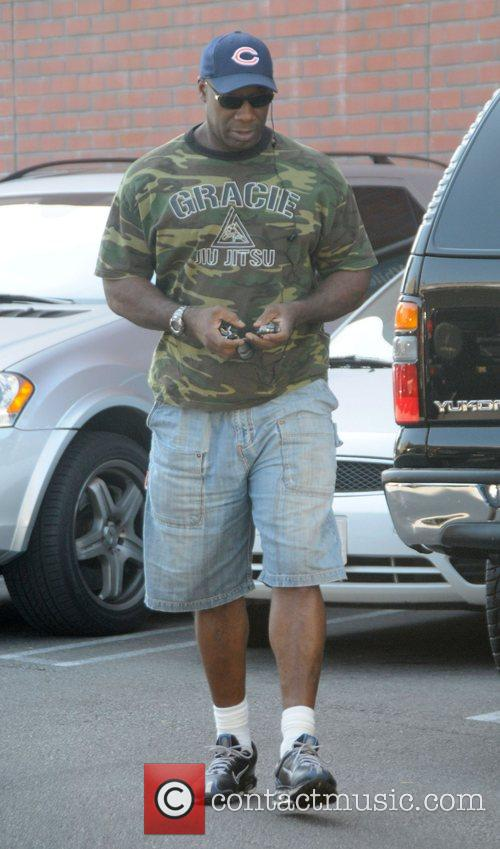 Actor Michael Clarke Duncan out and about in...