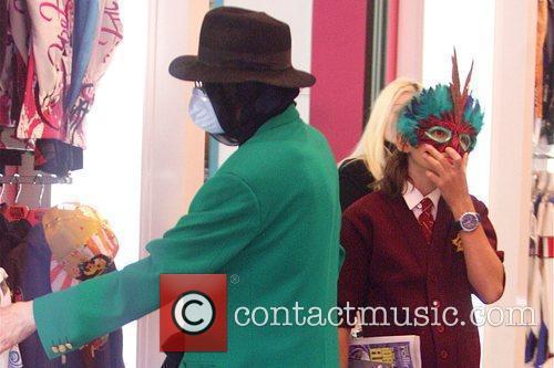 Michael Jackson, Michael Joseph Jackson and Jr. aka 'Prince' 1