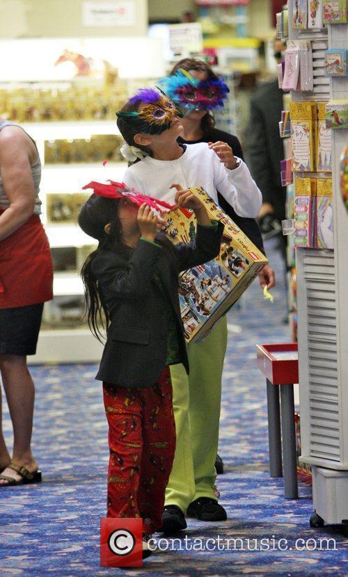 Michael Jackson's children Prince Michael, Prince Michaell II...