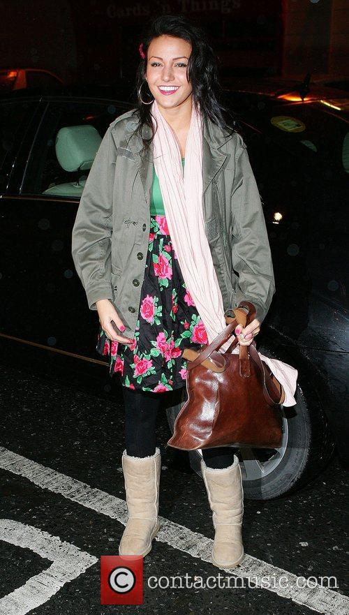 Coronation Street actress Michelle Keegan who plays Tina...