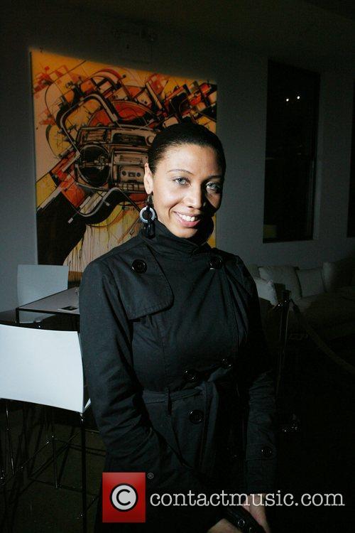 Alisha Crutchfield Microsoft celebrates the launch of a...
