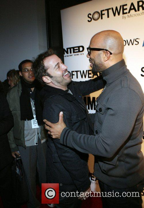 Jeremy Piven and Common Microsoft celebrates the launch...