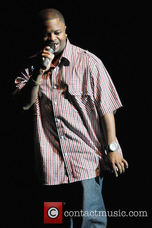 Comedian Benji Brown opens for actor/comedian Mike Epps'...