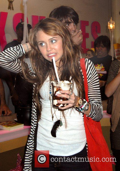 Miley Cyrus at Millions of Milkshakes to name...