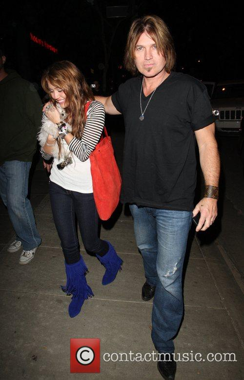 Miley Cyrus and Billy Ray Cyrus 9
