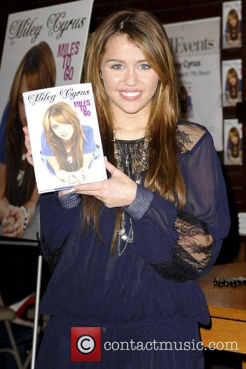Miley Cyrus promotes her book, 'Miles To Go'...