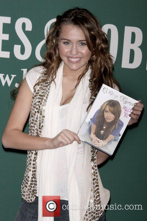 Miley Cyrus  promotes her book, 'Miles To...