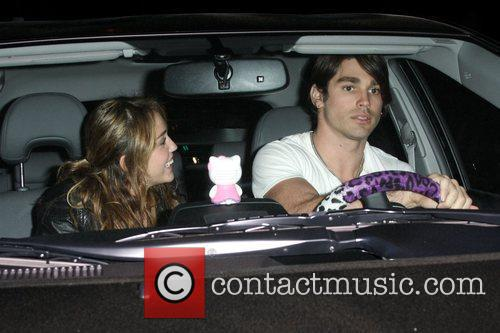 Miley Cyrus and Boyfriend Justin Gaston Leaving Koi Restaurant In West Hollywood 6