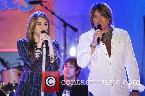 Miley Cyrus and Billy Ray Cyrus 1