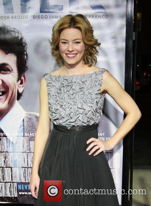 Elizabeth Banks Los Angeles premiere of 'Milk' at...