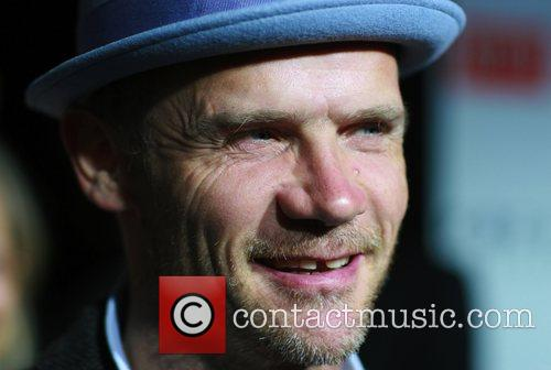 Flea Los Angeles premiere of 'Milk' at the...