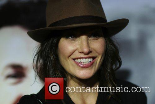 Gina Gershon Los Angeles premiere of 'Milk' at...