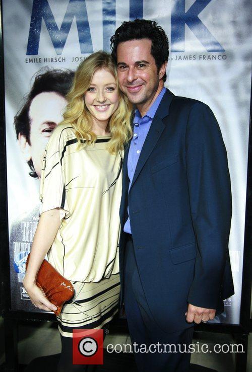 Jennifer Finnigan and Jonathan Silverman Los Angeles premiere...
