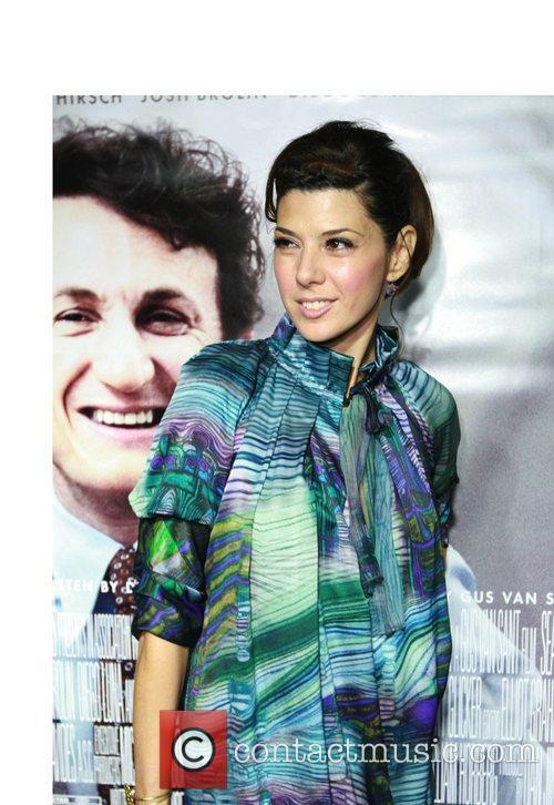 Marisa Tomei Los Angeles premiere of 'Milk' at...