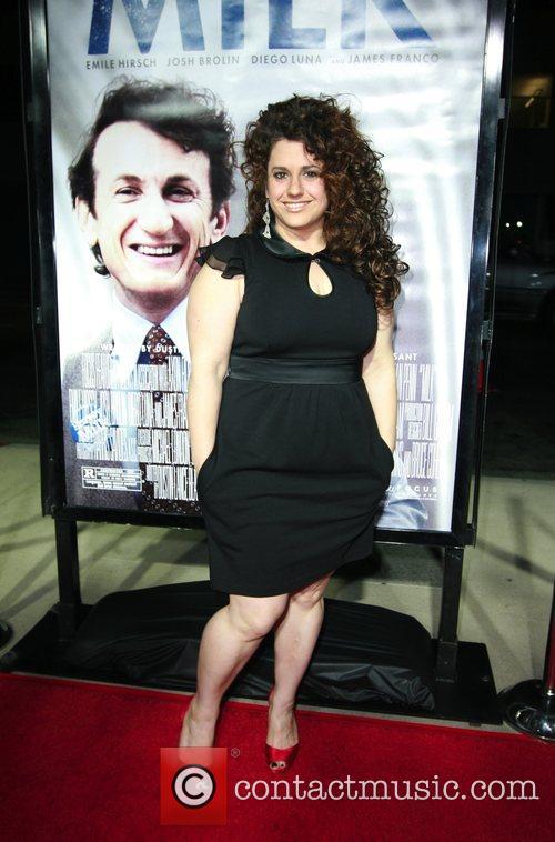 Marissa Jaret Winokur Los Angeles premiere of 'Milk'...