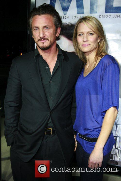 Sean Penn and Robin Wright Penn Los Angeles...