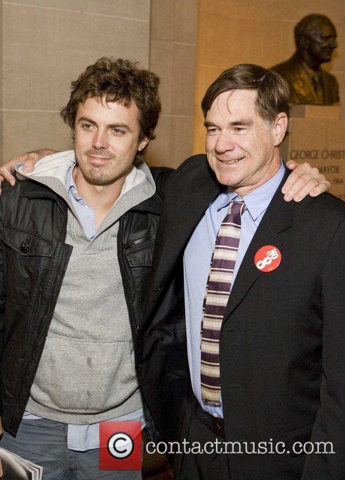Casey Afleck and Gus Van Sant 3
