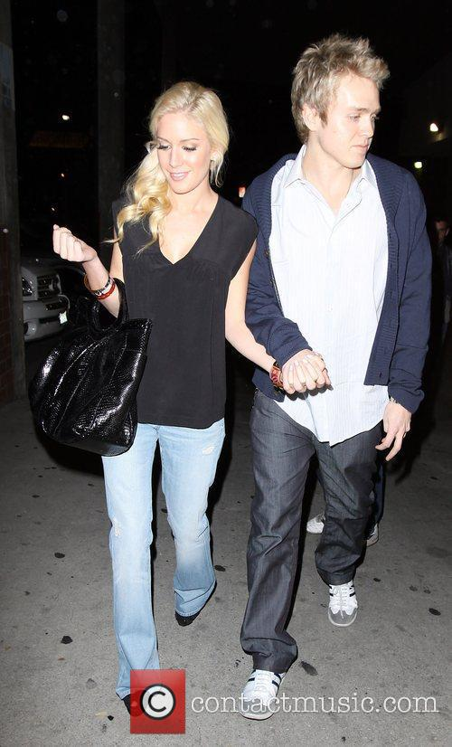 Spencer Pratt and Heidi Montag at Millions of...