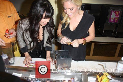 Kim Kardashian and Heidi Montag 2